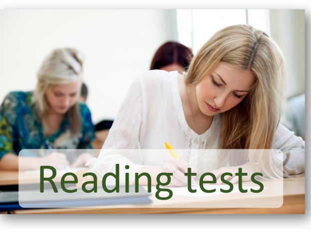 General Training Reading tests course image
