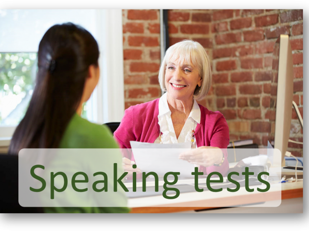 Speaking Practice tests course image