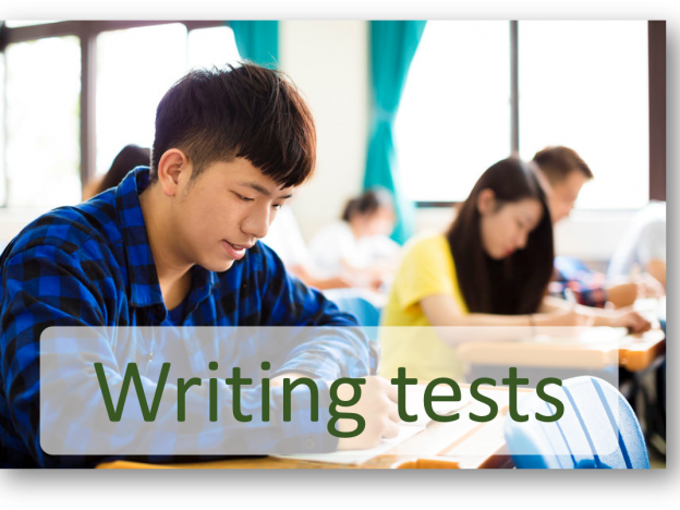 General Training Writing tests course image